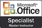 Zertifizierte Kompetenz in Excel, Powerpoint, Word, Outlook und Access - Microsoft Office Specialist Master Instructor